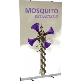 Mosquito 1200 Retractable Banner Stand