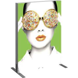 Vector Frame Light Box Rectangle 01 Fabric Banner Display