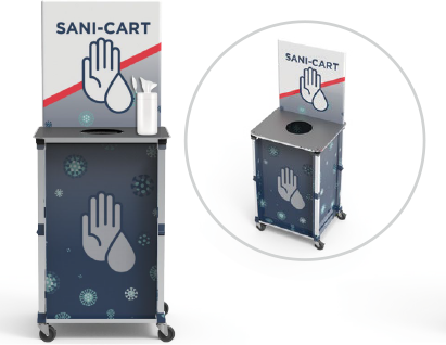 Mini Sani-Cart